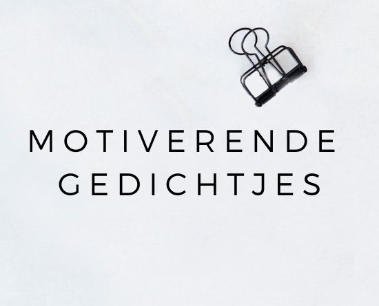HOMEPAGE JIP. MOTIVERENDE GEDICHTJES