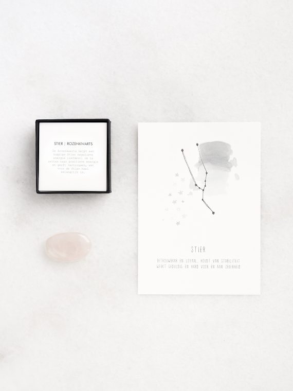Sterrenbeeld Edelsteen rozenkwarts stier Gewoon Jip