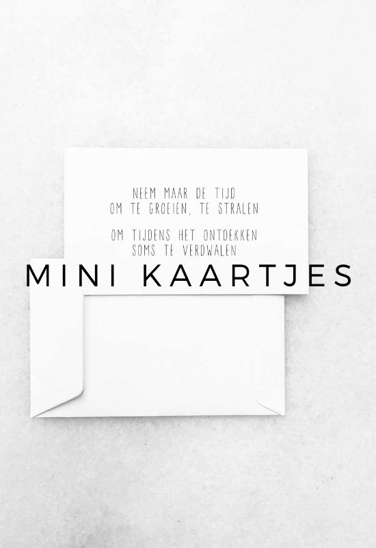 HOMEPAGE JIP. MINI KAARTJES
