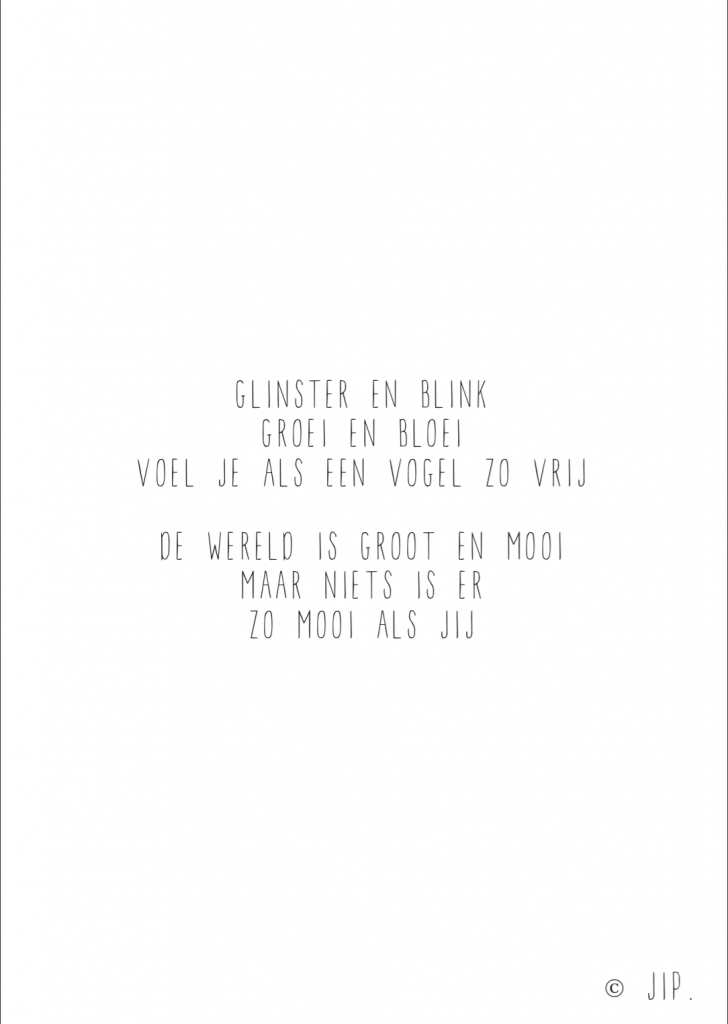 GLINSTER EN BLINK – SCREENSHOT