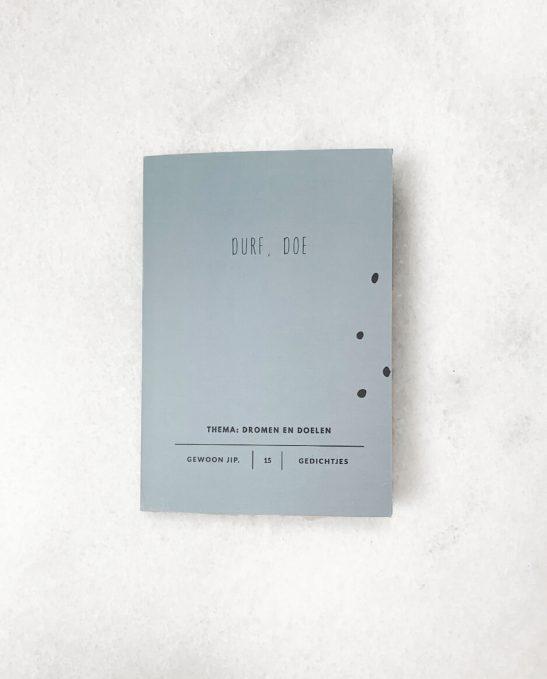Boekje 15 uitscheurbare ansichtkaarten - durf doe