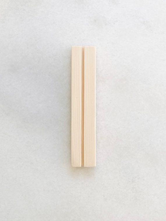 A5 houten kaarthouder Gewoon JIP