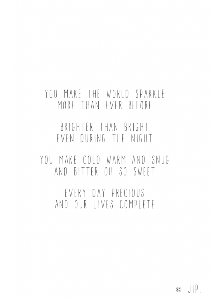 YOU MAKE THE WORLDS SPARKLE – SCREENSHOT
