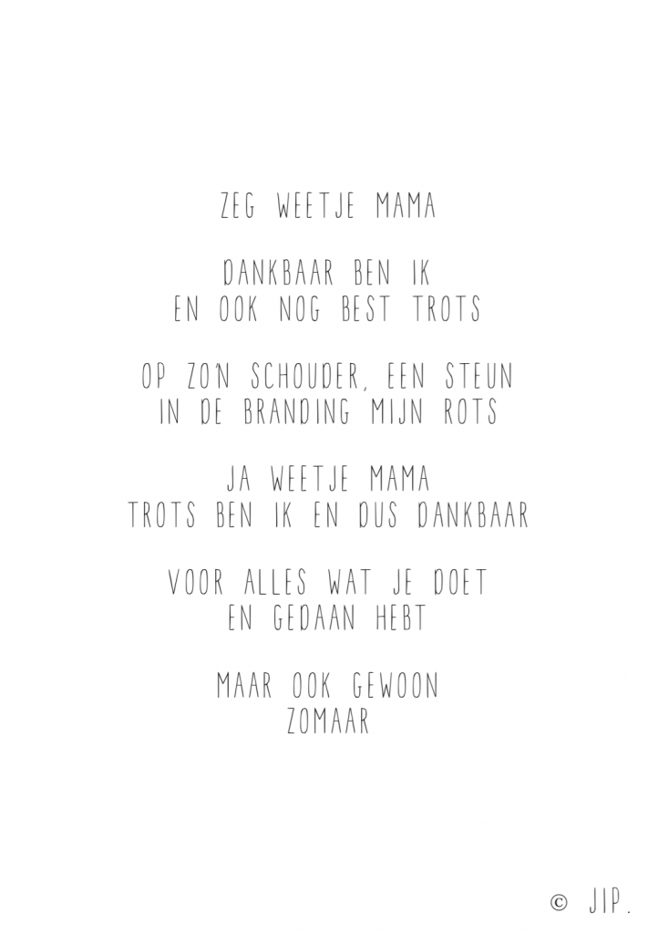 ZEG WEETJE MAMA – SCREENSHOT