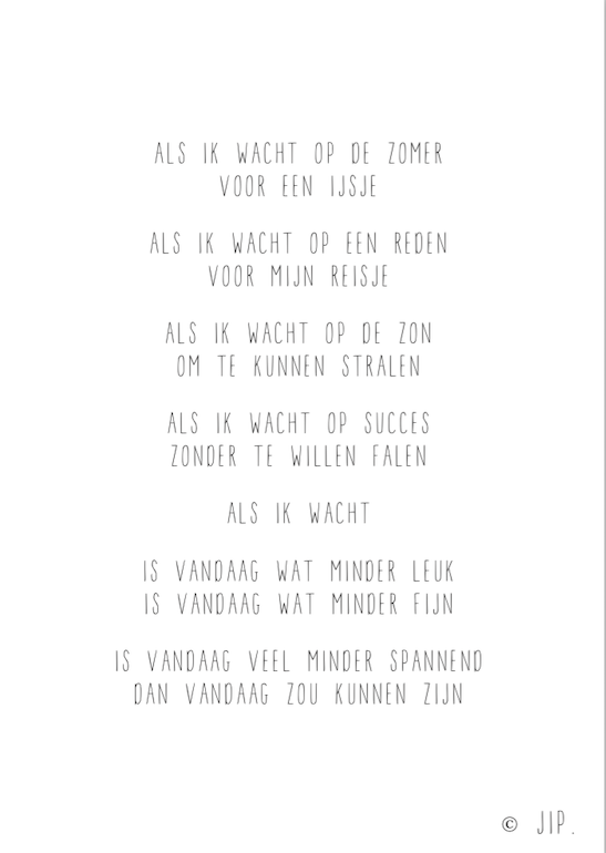 ALS IK WACHT OP DE ZOMER | SCREENSHOT