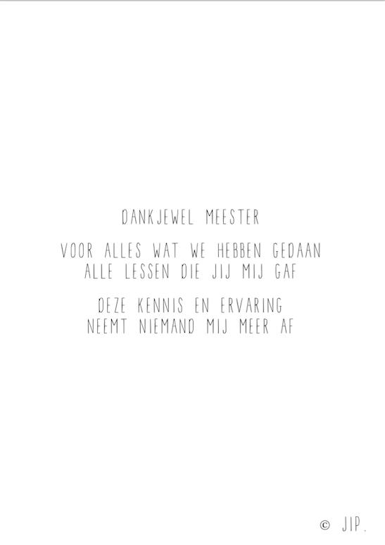DANKJEWEL MEESTER