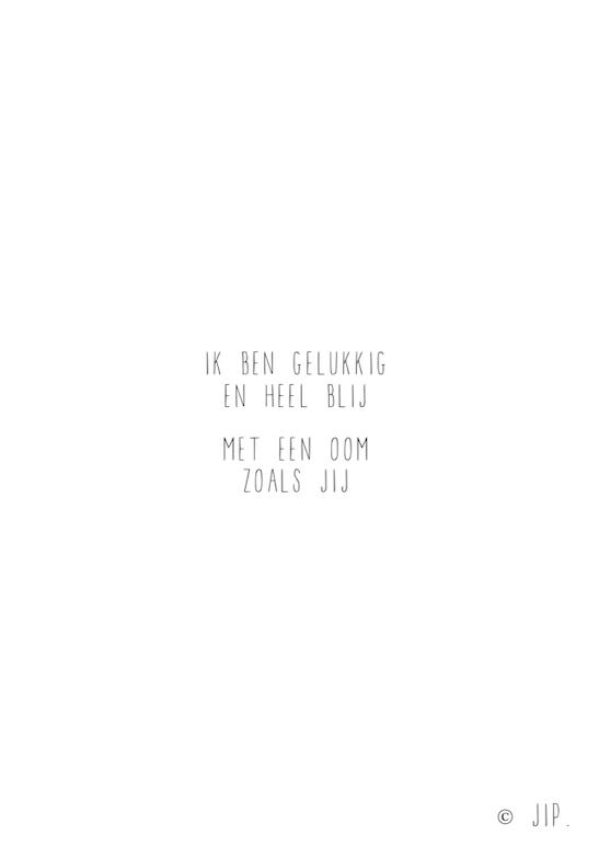IK BEN GELUKKIG – OOM