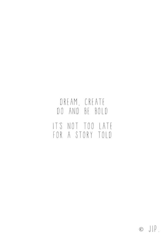 DREAM, CREATE
