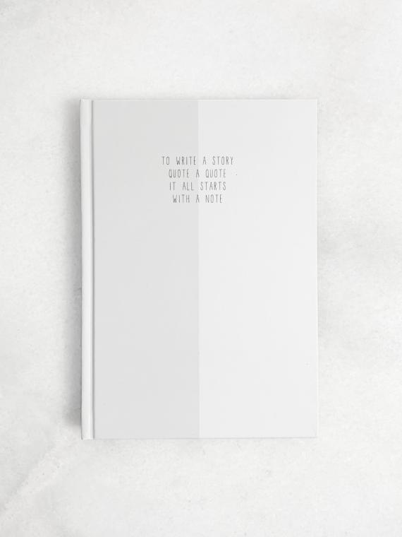 hardcover notitieboek