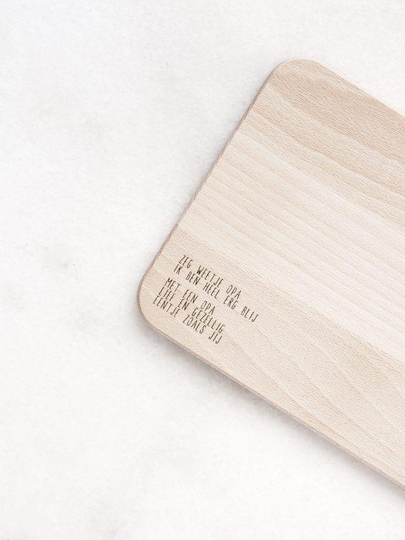 Zeg weetje opa plank product